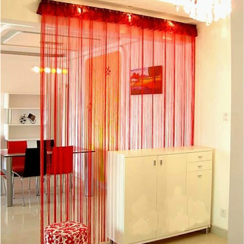 100-200cm-Line-Tassel-String-Door-Curtain-Window-Room-Divider-Curtains-Tulle-Bac