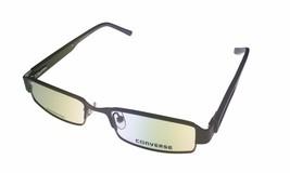 Converse Opthalmic Mens Rectangle Forrest Brown Metal Eyewear Frame DJ - $35.99