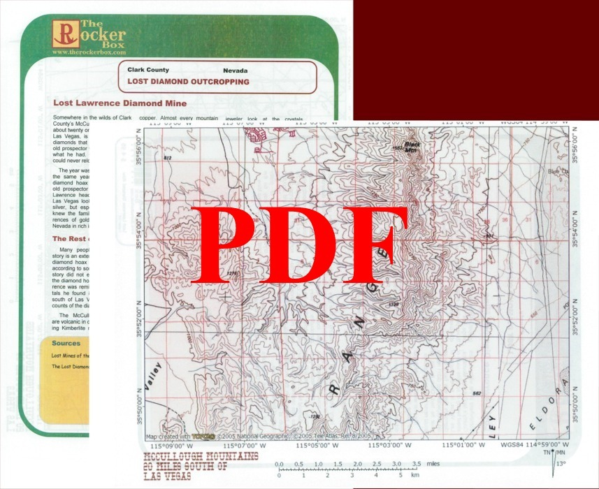 Lost Lawrence Diamond Mine of Clark County, Nevada - PDF