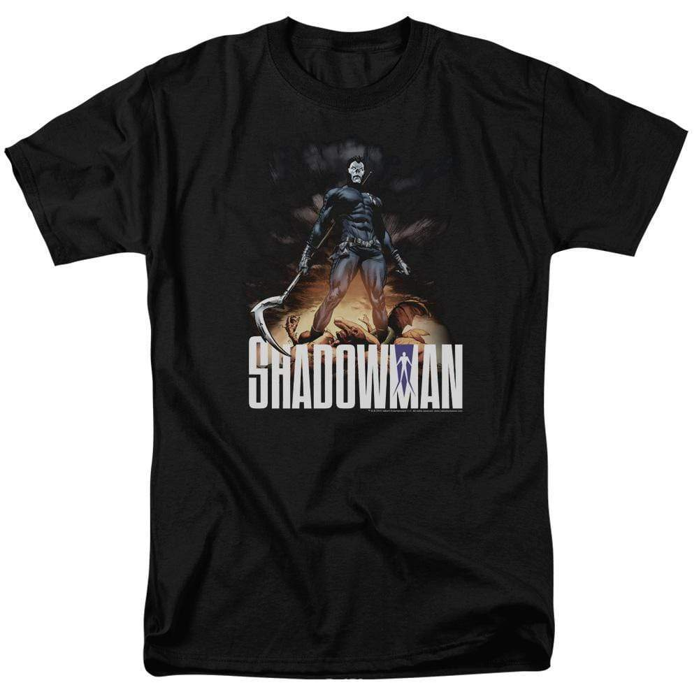 Ntiy quantum and woody ninjak  graphic tee shirt for sale online store shadowman val166 at 2000x