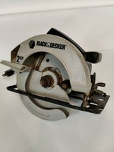 "Black & Decker Circular Saw 7 1/4"" No. 7358 2 HP 5300 RPM 10 Amps - $36.99"