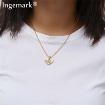 Ingemark New Fashion Angel Pendant Choker Necklace Eco-Friendly Material Alloy B - $10.31
