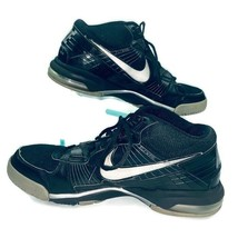Nike BO JACKSON Trainer SC 2010 Shoes Black/Silver Size 11.5 #386484-001 - $74.18