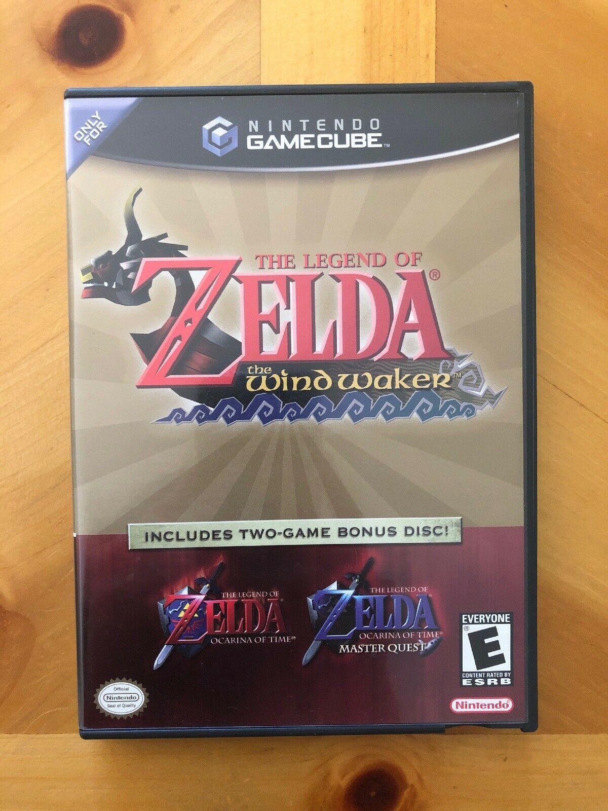 The Legend Of Zelda The Wind Waker 2-Game Bonus Disco, Nintendo Gamecube, Cib