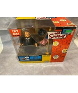 The Simpsons COURT ROOM JUDGE SNYDER Figure WOS 2002 New Box wear and tear - $24.70