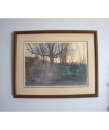J R Hamil GATE TO SOMEWHERE Kansas City MO Artist Framed Print Pencil Si... - $425.00