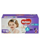 Huggies® Little Movers Plus Diapers Size: 5; 150  Baby Diaper Comfort Ch... - $55.84
