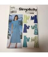 Simplicity 5660 Size 18W-24W Women's Women's Petite Dress and Jacket - $11.64