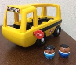 Vintage Little Tikes Toy Vehicle School Bus Kid... - $24.74