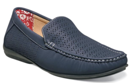 Stacy Adams Shoes Cicero Perfed  Slip On Navy 25172-410 - €53,81 EUR