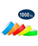 WristCo Variety Pack 3/4 Tyvek Wristbands - Red, Orange, Yellow, Green, ... - $51.71
