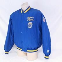 Vintage Los Angeles Rams Starter Jacket 90s Coat LA Script NFL Football ... - $149.99