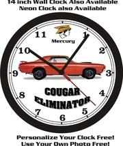 1970 MERCURY COUGAR ELIMINATOR WALL CLOCK-FREE USA SHIP! - $41.57+