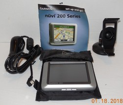 Garmin nuvi 200 Automotive Mountable GPS Device Touchscreen with Accessories - $46.75