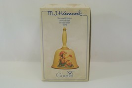 Goebel M.I. Hummel Annual Bell Second Edition in Bas-Relief 1979 West Germany EX - $14.49