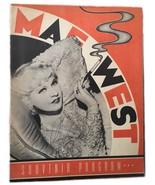 Vintage Autographed Mae West Souvenir Program - $198.00
