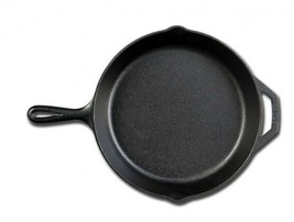 Cast Iron Skillet Durable Pre-Seasoned Frying Pan BBQ Camping Cookware U... - $45.55 CAD