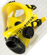 Full Face Yellow Facepiece GENUINE Gas Mask Respirator GP9 BRIZ with fil... - $55.00