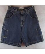 Levis Levi Strauss Signature Size 29 Blue Jean denim Carpenter Shorts - $16.78