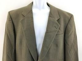 HUGO BOSS CORLEONE LAMBSWOOL CHECK PANE BLAZER COAT JACKET Sz 40R - $14.84