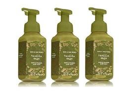 3 Bath & Body Works Vanilla Sage Gentle Foaming Hand Soap 8.75 fl oz each - $28.75