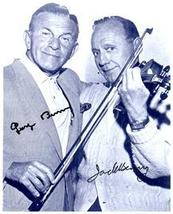 GEORGE BURNS & JACK BENNY Authentic  SIGNED AUTOGRAPHED 8X10 PHOTO w/COA... - $265.00