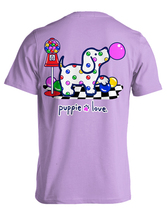 Puppie Love Rescue Dog Adult Unisex Short Sleeve Cotton Tee,Gumball Pup