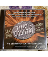 Gentlemen Of Country Chart Busters! CD New - $8.63