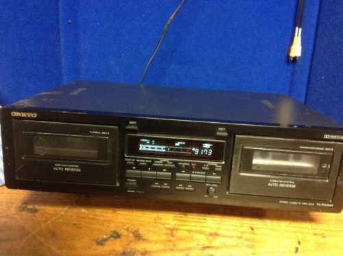 Onkyo TA-RW244 Stereo Dual Double Cassette and 43 similar items