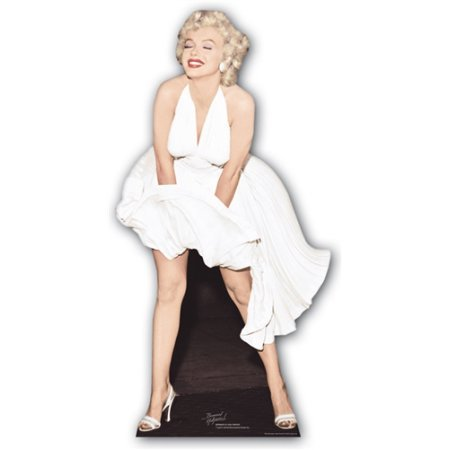 Marilyn monroe blowing dress life size stand up