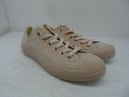 Converse Women's Low ​Chuck Taylor All-Star Suede Blush Gold Size 5.5M - $56.99