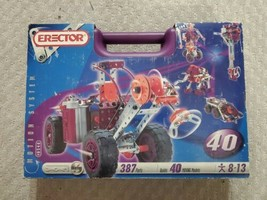 GREAT Meccano 8540 Motion System - building set in purple case - ages 8-13 - $83.80