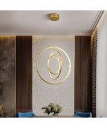 Modern Chandelier Lighting Round Ring Hanging Lamp Ceiling Lustre Light ... - $899.99