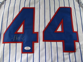 ANTHONY RIZZO / CHICAGO CUBS / AUTOGRAPHED CHICAGO CUBS CUSTOM JERSEY / COA image 3