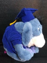 "Disney Store Exc GRAD PARTY EEYORE LG 13"" Plush NO Diploma ,detachable tail - $6.99"