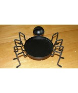 HALLOWEEN SPIDER CANDLE HOLDER - New w/o box - $6.43