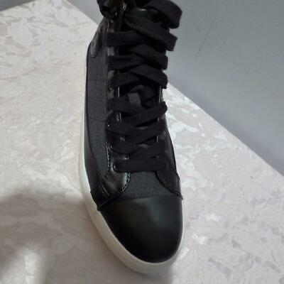 Polo Ralph Lauren Clarke Hi-Top Sneakers ,Heather Rip Stop,  Black,