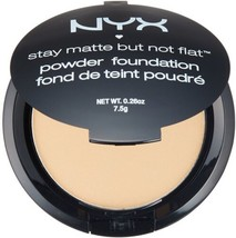 NYX HD Studio Stay Matte But Not Flat Powder Foundation 0.26 oz SMP07 Wa... - $8.29
