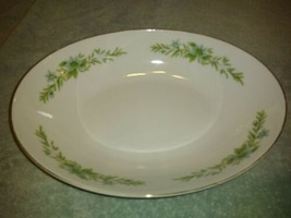 """10.5"""" x 7.75"""" CREATIVE MANOR OVAL SERVING BOWL fine china of JAPAN  #9169 - $18.80"""