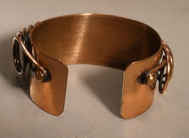 Renoir Copper Coil Cuff Bracelet - $24.00