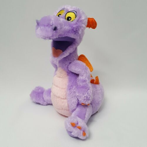 "Primary image for Dragon Disney Parks 9"" Tall Soft Stuffed Plush Purple Figment Epcot Imagination"