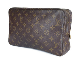 LOUIS VUITTON TROUSSE TOILETTE 28 Monogram Canvas Cosmetic Pouch Bag LP2892 - $179.00
