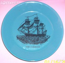 English POTTERY-- Staffordshire Portmeirion Ships Plate - $44.95