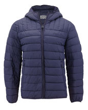 Levi's Men's Puffer Embroidered Logo Hood Quilted Packable Zipper Red Tab Jacket image 8