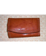 Rolf's Genuine Cowhide Leather key caddy case  ... - $11.47