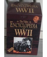 Gently Used VHS Video, The Video Encyclopedia of WWII, 5 Tape Set, VG COND - $14.84