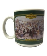 """Vintage 1992 Houston Foods Green """"Central Park Winter 1862"""" by Currier &... - $23.99"""