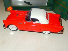 VINTAGE DIECAST- -'SUPERIOR COLLECTIBLES'-  1955 FORD T-BIRD - BOXED- NE... - $14.69