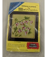 """Wild Hearts Needlepoint Miniatures by Spinnerin 4"""" x 4""""  Sealed - $18.06"""