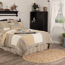 New Vhc Brands Farmer's market King Grain Bed Quilt Shams Skirt  - $22.95+